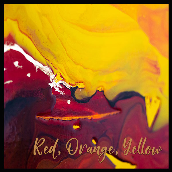 Red, Orange or Yellow Paintings